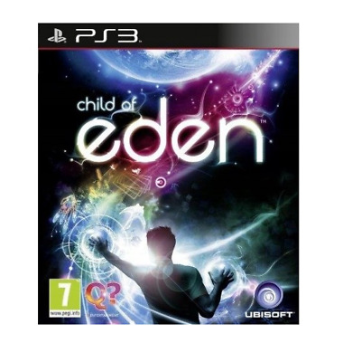 New Child of Eden PlayStation 3 game - PS Move - Gift Idea - Stunning Graphics