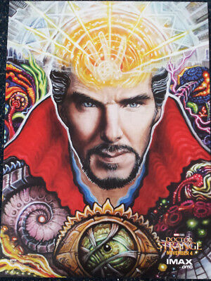 2 DOCTOR STRANGE AMC Exclusive IMAX Posters - Marvel - MCU
