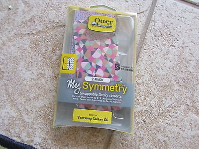 Otter Box My Symmetry 2pk Swappable Design Inserts for Samsung Galaxy S6
