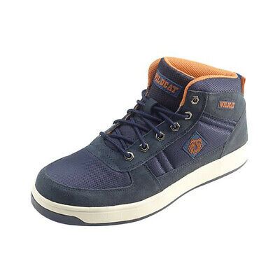 Panther Midcut Blue S1 Size 7 PANTHERN07 Wildcat Genuine Top Quality Product New