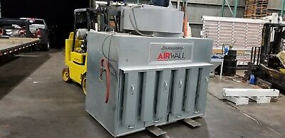 Envirosystems Airwall 60Md Dust Collector 5 Hp 6000 Cfm 15 Filters