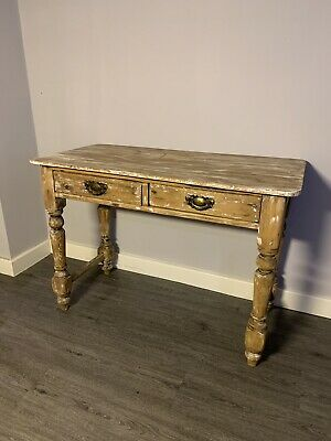 Antique Victorian Pine Side Table