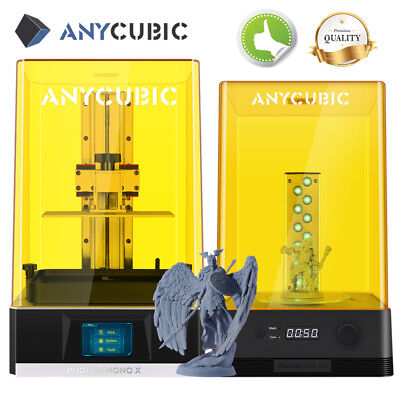 """UK ANYCUBIC Photon S SLA LCD 3D Printer UV Resin Light-Cure 2.8"""" TFT Dual Z-axis"""