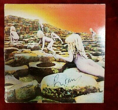 Led Zeppelin Houses Of The Holy Gema German Robert Ludwig Rl Both Sides Vinyl Lp