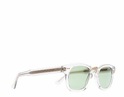 2b4bc28d9f GUCCI GG0182S 005 Sunglasses Brown Crystal Frame Green Lenses 49mm ...
