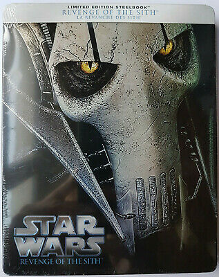 Bluray STEELBOOK STAR WARS 3 La Revanche des Siths  NEUF SOUS BLISTER
