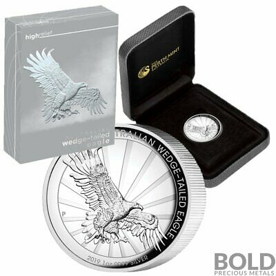 2019 Silver 1 oz Australia Perth Wedge-Tailed Eagle Proof