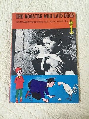 Vintage 1967 The Rooster Who Laid Eggs Motion Picture By Claude Berri
