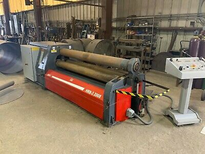 "Plate roll year 2014 Durma/JMT HRB-3 2008 6'6"" X 1/4"" capacity ."