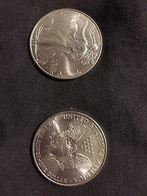 1996 American Silver Eagle One Ounce Coin Special Date