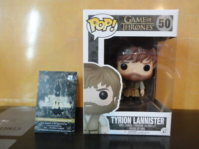 Funko POP Game of Thrones 50 Tyrion Lannister essos figure Originale Sigillato