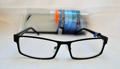 f6199332314 Foster Grant Multi Focus Reading Glasses +1.00 Sawyer Black