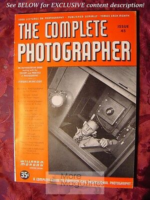 RARE THE COMPLETE PHOTOGRAPHER 1942 Issue 30 Volume 5