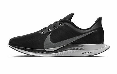 71e652700fb57 Nike Zoom Pegasus 35 Turbo Black Vast Grey ZoomX Men Running Shoes AJ4114 -001