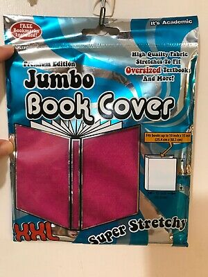 Its Academic Super Stretchy XXL Jumbo Book Cover Pink Premium Edition