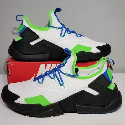 41798777af68 Nike Air Huarache Drift Men s Shoes White Black Blue Nebula AH7334-102 Size