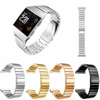 For Fitbit Ionic Stainless Steel Metal Bracelet Strap Replacement Watch Band