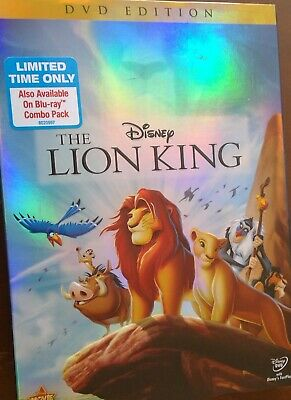 *SEALED* Disney's The Lion King *NEW* 2011 DVD Release