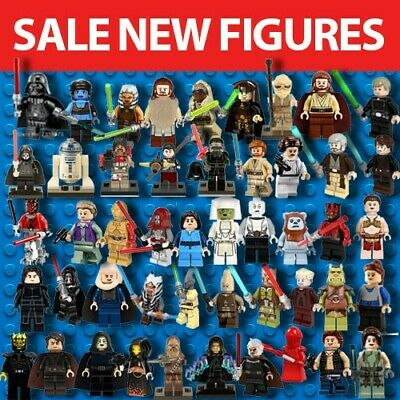 New Lego Star Wars Minifigures & Custom Mini Figures Uk Seller Sith Jedi Rare
