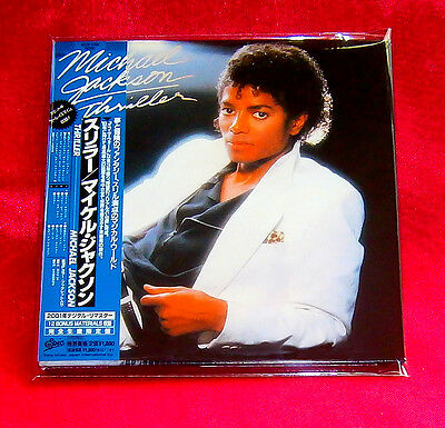 Michael Jackson Thriller MINI LP CD JAPAN EICP-1195