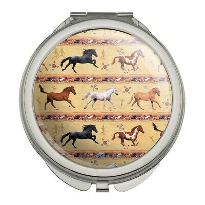 Horses Southwestern Border Pattern Purse Bag Hanger Holder Hook