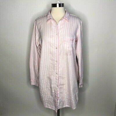 38fc1e6467ccf VICTORIA'S SECRET STRIPE Sleep Shirt Sleepwear Pajama T-Shirt Night ...