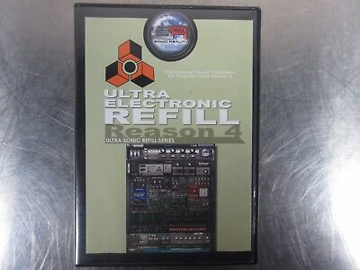 Sonic Reality Sonic Refill Propellerheads Ultra Electronic Refill Reason 4