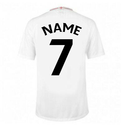 Football Name And Number Curved, Iron On Lettering Vinyl Hard Wearing Youth