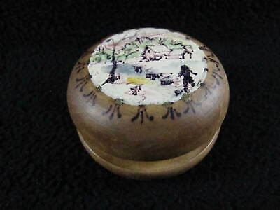 Vintage Antique Hand Painted Dog House Woods Wooden YOYO