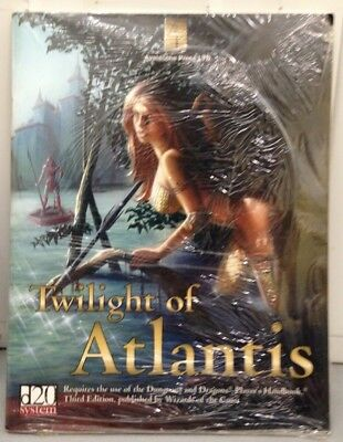 Twilight of Atlantis by John Phythyon (Author), et al - Sealed D20 System