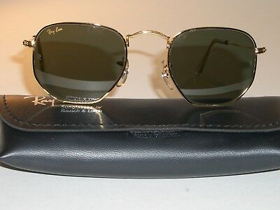 c74a835e96 Vintage B&L Ray-Ban W0980 Arista Gp Classic Metals G15 Aviator Sunglasses  New