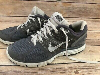 huge discount b52d5 7feaf NIKE LUNARGLIDE 2 FLYWIRE Womens Gray Running Shoes Size 6.5 407647-013
