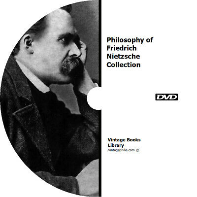 * The Philosophy Of Friedrich Nietzsche * 100 Rare Ancient History Books On Cd *