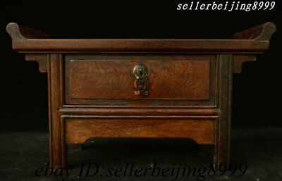 Old China Huali Wood Table Coffee table Arne Jacobsen Coffee Table Drawer Locker