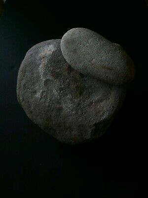 Prehistoric Native American metate/mano.