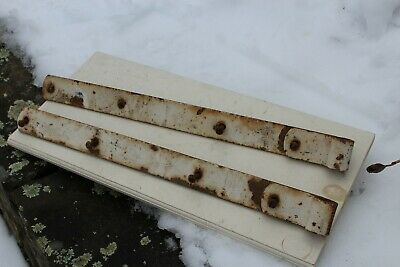 Large Antique Collectible Iron Barn or Gate Hinges Tool Primitive 24 inch old