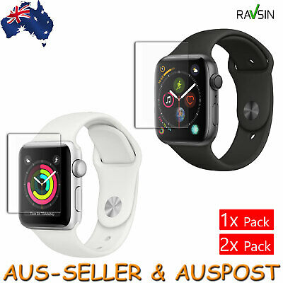 Apple Watch Series 3 38 42mm Tempered Glass Screen Protector 9H 2x 1x