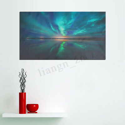 Aurora Canvas Print Painting Wall Modern Art Picture Home Decor Unframed AU POST