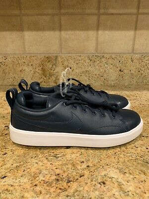 the latest 77b06 6667a Nike Course Classic Golf Shoes Navy Blue White Spikeless Men s Sz 8  (905232-400