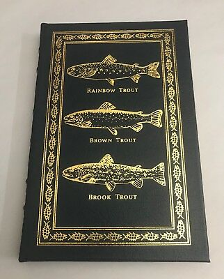 EASTON PRESS Voelker (Traver):TROUT MADNESS Leather-Bound Library of Fly-Fishing