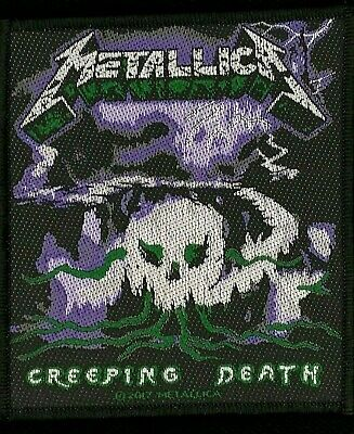 Metallica - Creeping Death Patch - metal band merch