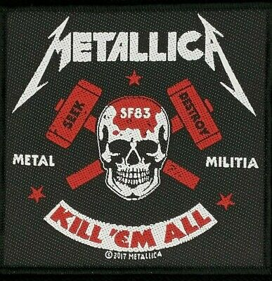 Metallica - Metal Militia Patch - metal band merch