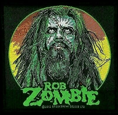 Rob Zombie - Zombie Face Patch - metal band merch