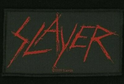 Slayer - Scratched Logo Patch - metal band merch