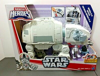 Nouveau 2017 Hoth KOHL/'S EX Global Star Wars Galactic Heroes Imperial AT-AT forteresse
