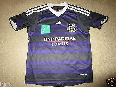 Royal Sporting Club RSC Anderlecht Ethan #6 Football Soccer Jersey Youth S 8-10