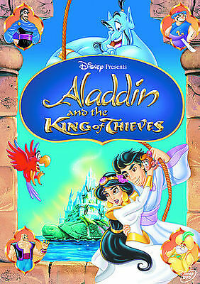 Aladdin and the King of Thieves Disney DVD 2005 NEW Authentic Bueno Vista Sealed