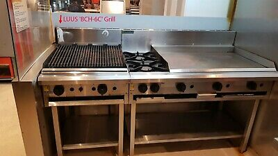LUUS Essentials 600mm Chargrill Char Grill BCH-6C