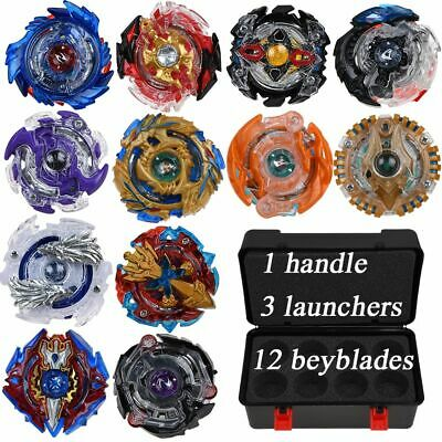 NEW 1/12Pcs KIT Beyblade BURST Launcher SET Toys With Box BEST GIFT KIDS TOY AU