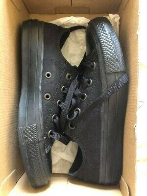 Black All Star Low Top Converse